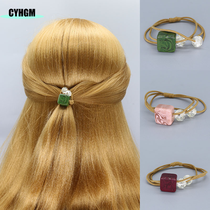 Elastic Hair Bands Hair Ties Velvet Satin Scrunchie Pack Hair Accessories Cabello Girls Women Diademas Para El Pelo Mujer F05-4