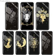 Witches Moon Tarot Mystery Totem Case For Xiaomi Redmi Note 8T 8 7 6 K30 5G K20 Pro 8A Mi