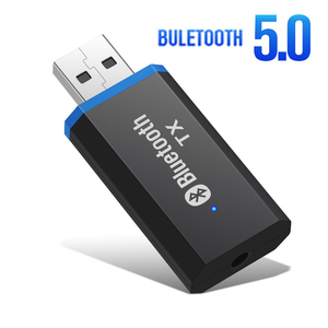 USB Bluetooth Audio Transmitter 3.5MM AUX Jack Stereo Music Wireless Adapter Drive Free For TV PC Headphones Smart Adapter