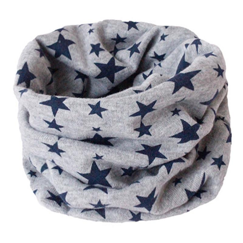 Весенний детский хлопковый шарф, теплый шарф для маленьких детей, осенне-зимние шарфы с героями мультфильмов для мальчиков и девочек, детский воротник с круглым вырезом, волшебный шейный платок - Цвет: 16