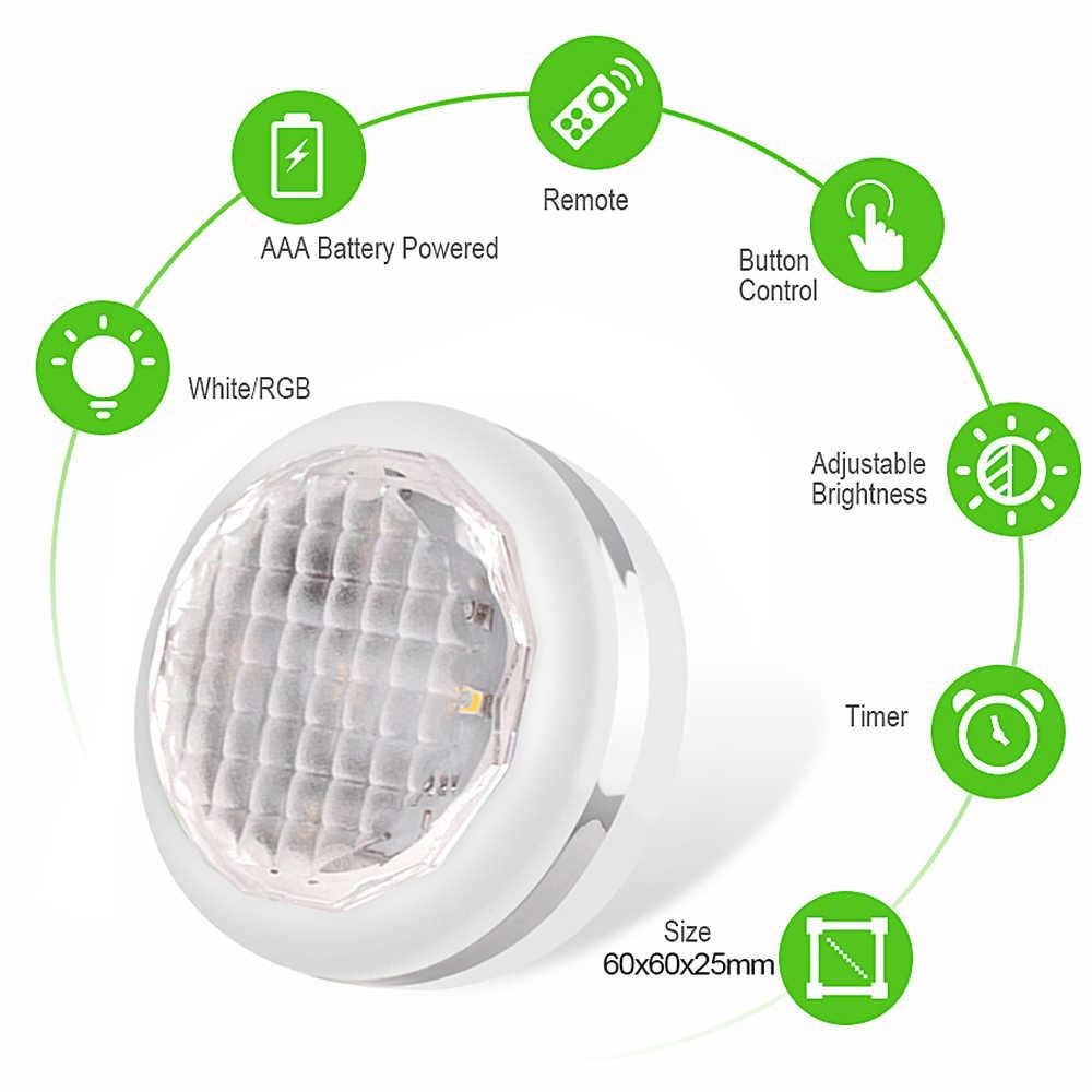 lumiere led Lampe LED à intensité variable tactile avec télécommande placard/cuisine/armoire/sous armoire spot LED lampe à piles kitchen light lampe luci led