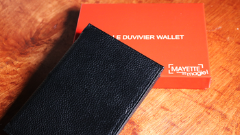 2019 Duvivier Wallet by Dominique Duvivier Magic Instructions Magic trick image