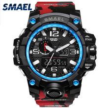 Uhren Männer Digitale Uhr 2021 SMAEL Sport Uhr 50M Wasserdicht Auto Datum relogio masculino Digital Military Uhren Herren Sport