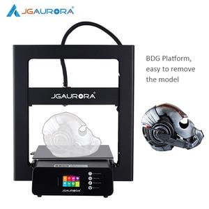Image 3 - JGMAKER A5S 3D מדפסת מתכת מסגרת 305*305*320mm הדפסת עם SD כרטיס משודרג כוח אספקת JGAURORA