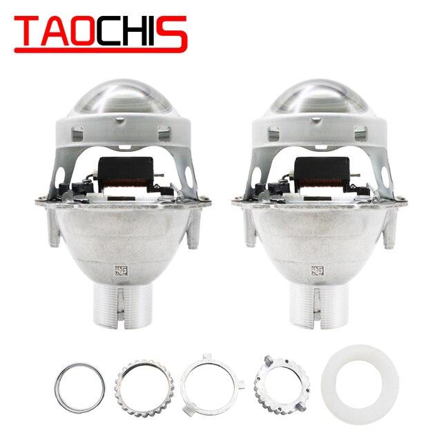 TAOCHIS Auto head light 3.0 inch Bi xenon Projector Lens replace 3R G5 HELLA H4 Lossless installation Non destructive