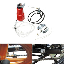 Motorcycle Automatic Chain Lubricator Motorcycle ATV Lubricant Grease Lub Parts Chain Lubricator Oiler Maintenance Set