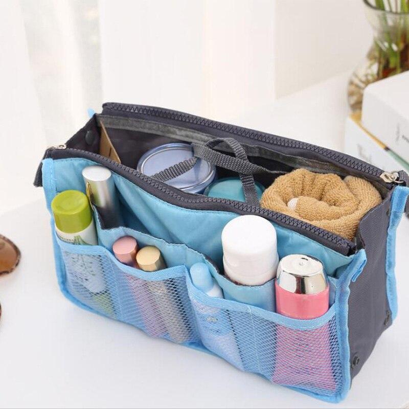 Multifunctional Makeup Kit Storage Bag Ladies Travel Storage Bag Handbag Wallet Big Liner Ladies Cosmetic Bag Makeup Tool Bag