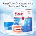 Y-Kelin таблетки для очистки зубных протезов 96 Tabs протез вскитаные таблетки 96 таблетки протез очиститель