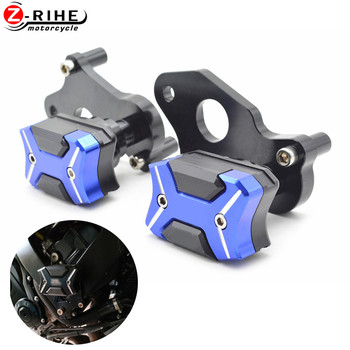 Motorcycle Accessories CNC Aluminum Frame Crash Pads Engine Case Sliders Protector Pour For Suzuki GSXR 600 750 K6 K8 2006-2010 frame sliders crash protector for suzuki gsr 400 600 gsr400 gsr600 2006 2010 motorcycle accessories bobbins falling protection