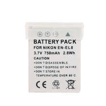 Ohd Originele Hoge Capaciteit Camera Batterij EN-EL8 En EL8 ENEL8 Voor Nikon Coolpix P1 P2 S1 S2 S3 S5 S50 s51 S52 PM087