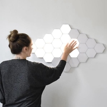 Quantum Wall Lamp Touch Sensitive Night Light Honeycomb Hexagons LED Magnetic Atmosphere Lighting Creative Decoration Lampara