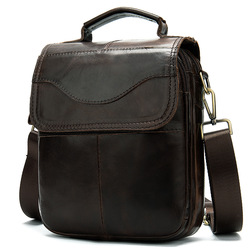 Maletín de hombre de 2020 Hop, bolso de cuero genuino para ordenador portátil, bolso de negocios para documentos, oficina, portátil, bolso de hombro para ordenador portátil