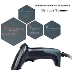 Image 4 - RADALL H Drahtlose Scanner Wired 1D/2D QR Barcode Reader Wireless Barcode Scanner Für Inventar POS Terminal 2D Barcode scanner