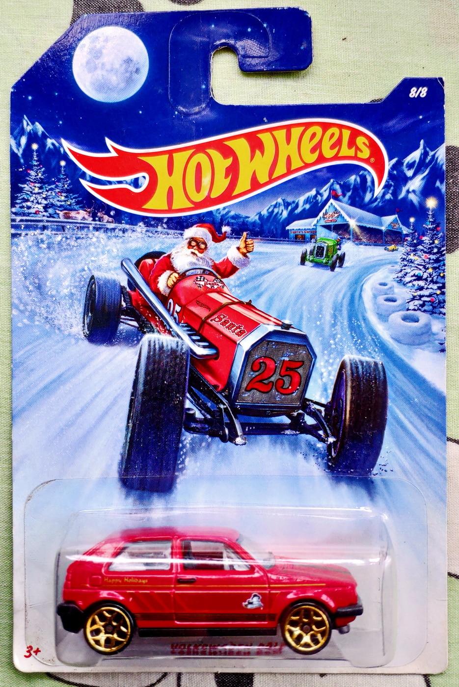 Hot Wheels 1:64 Car Collector Edition VOLKSWAGEN GOLF MK2 Car Metal Diecast Model Car Kids Toys Gift
