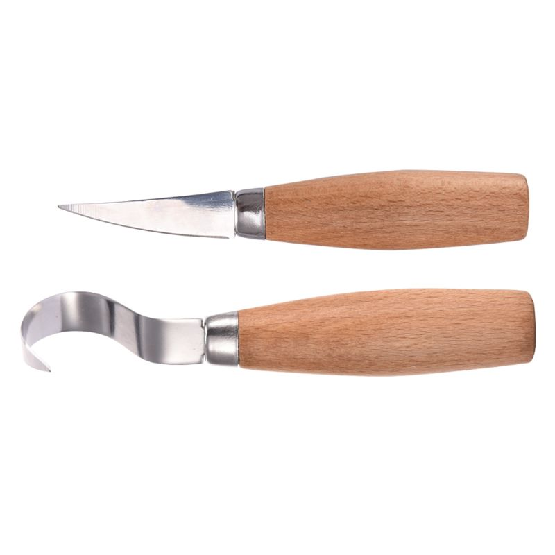 Stainless Steel Woodcarving Cutter Woodwork Spoon Carving Knife Tools Kit in Chisel from Tools