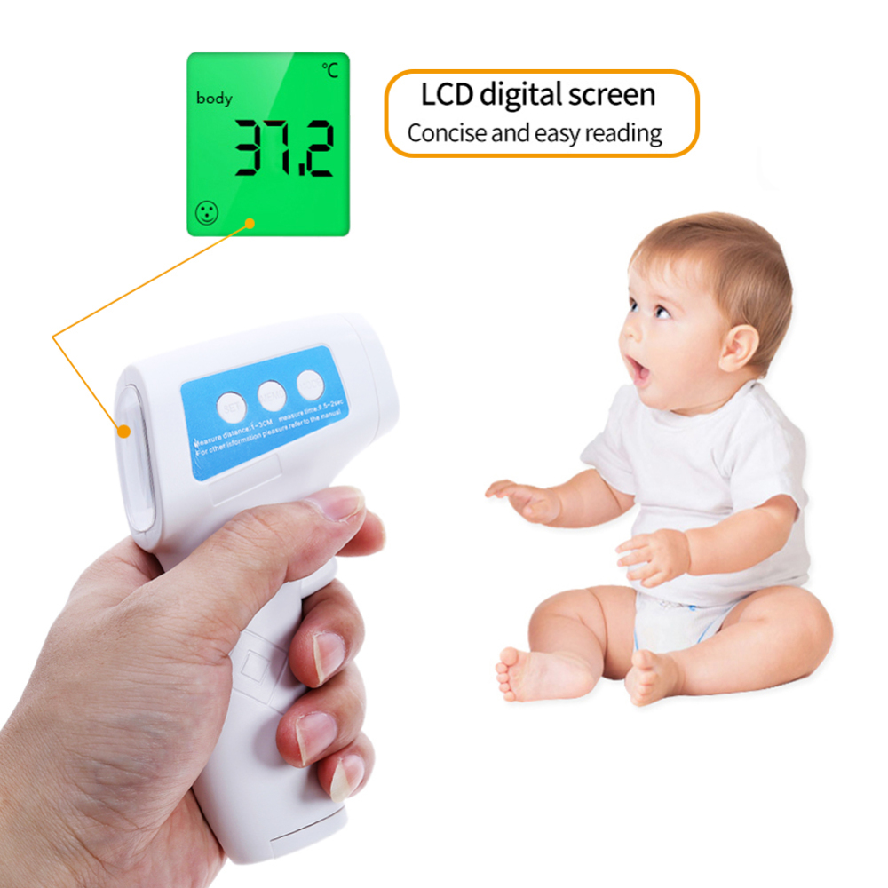 Muti-fuctional Baby Forehead Infrared Thermometer Body Temperature Fever Digital Measure Tool
