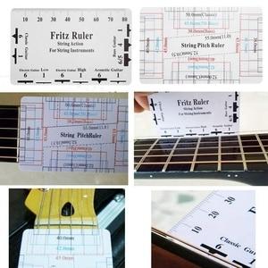 Image 5 - ギターツールキットの修復メンテナンスツール文字オーガナイザー文字列アクション定規ゲージ測定ツール六角レンチセット