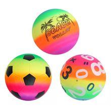 Soft Rainbow-Volleyball Swimming-Pool Beach-Balls Garden Outdoor Inflatable Kids Children