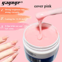 YAYOGE Builder Gel In a bottle For Nail Extensions 7 Color Acrylic Poly Gel Builder Gel Nail Polish For Nail Art Soak off 56g