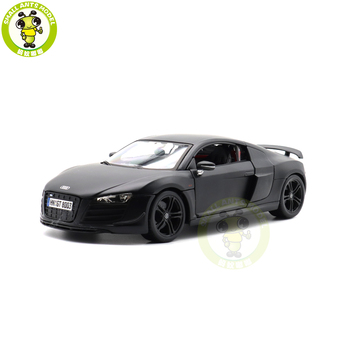 1/18 Audi R8 Racing Car Maisto 36143 36190 36213 Diecast Metal Model Car Toys Boys Girls Gifts image