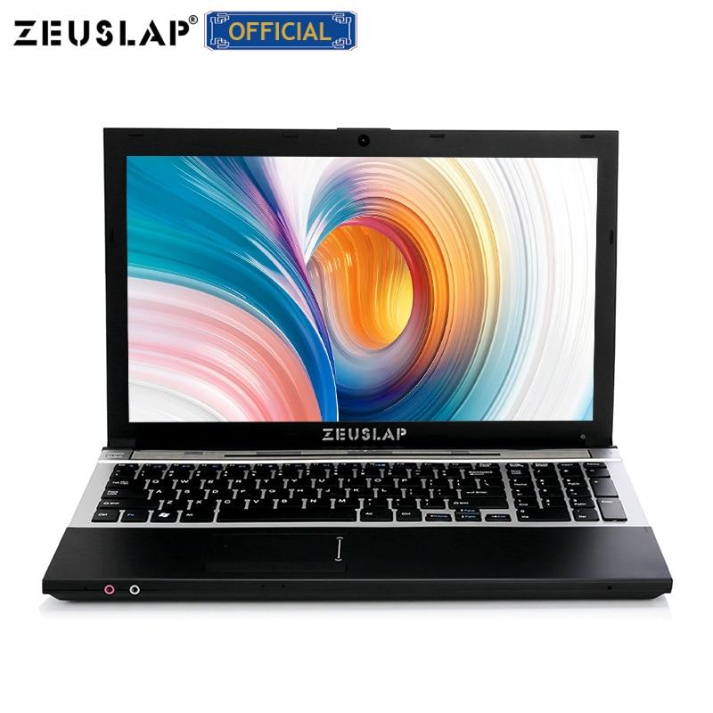 ZEUSLAP 15.6inch Intel I7-5500U 16gb Ram 1920x1080 Full Hd Screen Win10 Notebook PC I7 Gaming Laptop Computer