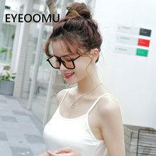 Eyeoomu новые трендовые солнцезащитные очки больших размеров