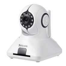 Sricam 720 P Mini IP Camera ONVIF Plug &Play Door Home Security Surveillance System Night Vision with Door Sensor(China)