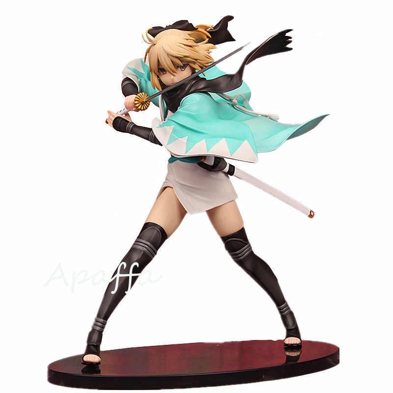 21cm Anime Game Fate Stay Night KOHA-ACE Sakura Saber Okita Souji Japan Anime Sexy Girl PVC Action Figure Model Doll Toys