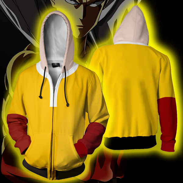 Anime ONE PUNCH-MAN Saitama Cosplay holloween Women men Costumes Saitama 3D Printed Hoodies Sweatshirt Cartoon hooded Jackets