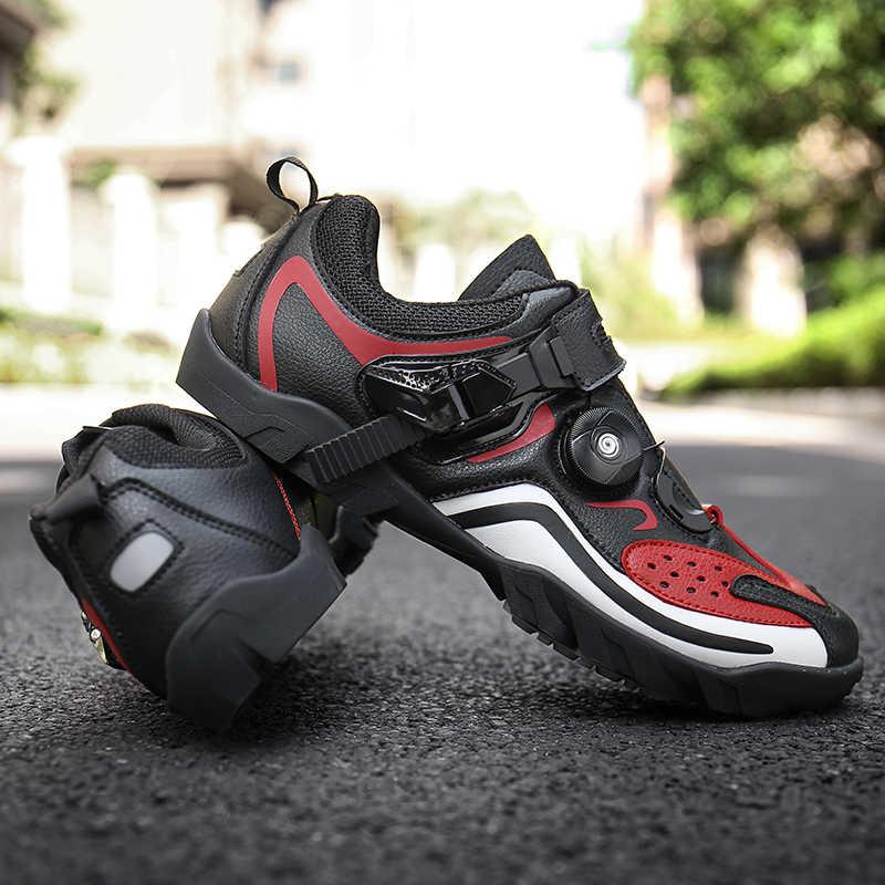 Bisiklet ayakkabıları profesyonel sapatilha ciclismo MTB dağ bisikleti chaussure vtt açık kadın erkek bisiklet bisiklet ayakkabıları