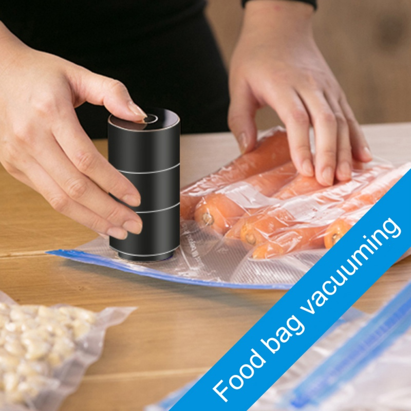2019 USB Home Vacuum Packing Machine Vacuum Sealer Machine Electric Wine Pump Reusable Vacum Food Storage Air Pump Sealing Bags in Other Utensils from Home Garden