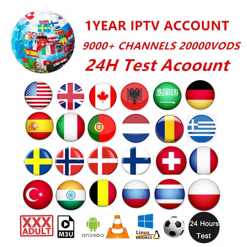 1YEAR HD World Iptv 10000 Live 20000 VOD 4K Live Best For Europe Sweden Arabic Arabic USA Africa France M3U Iptv Subscription