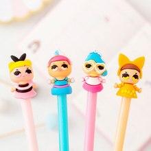 8 pcs/lot cute doll Gel Pen Promotional Gift Stationery School & Office Supply Kawaii Neutral pen