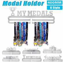 7 estilo de acero inoxidable medalla colgante titular de la medalla estante de exhibición correr natación gimnasio maratones bicicleta deporte medalla regalo Decoración