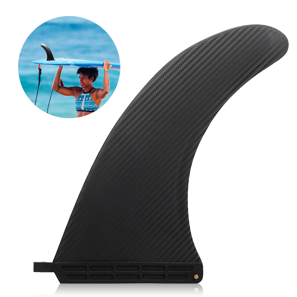 6.5-10In Surf Sup Singles Fin Central Fin Nylon Paddleboard Surfboard Longboard Surfboard Fin Water Sports Diving Boat Fins