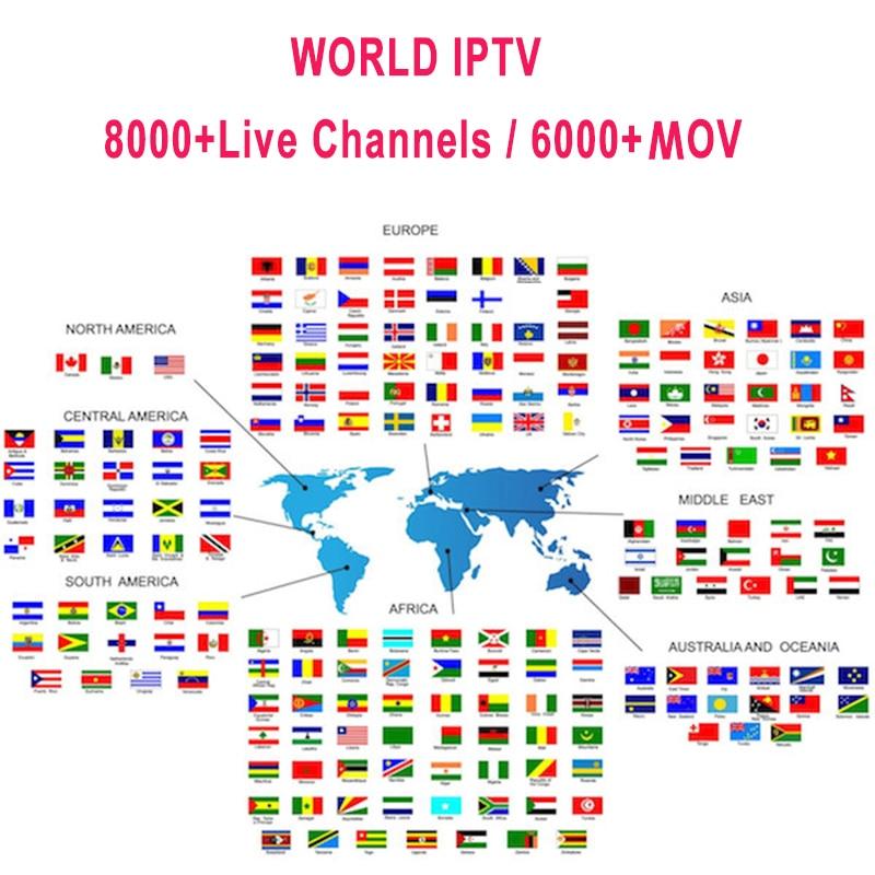 Premium IP TV Subscription IPTV Spain M3u 1 Year With 7500+ Live TV & 6000+ Spanish Movs Mov HD World Europe List IPTV Server6