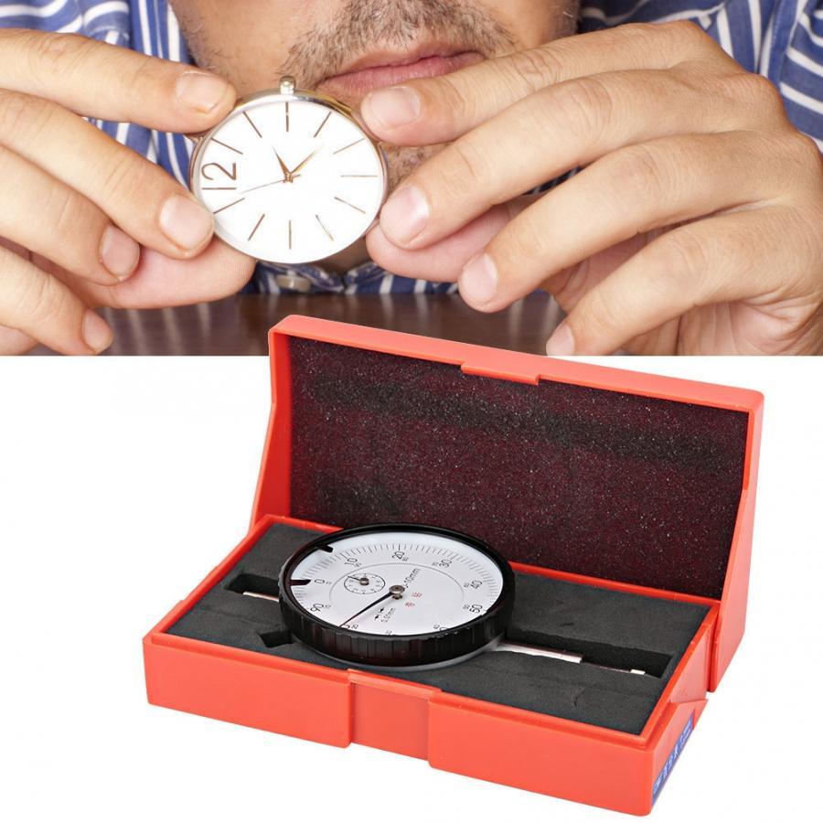 0-10mm/0.01mm High Accuracy Aluminum Alloy Dial Indicator Gauge Manual Measuring Tool Professional Watch Repair Tool Accessory l