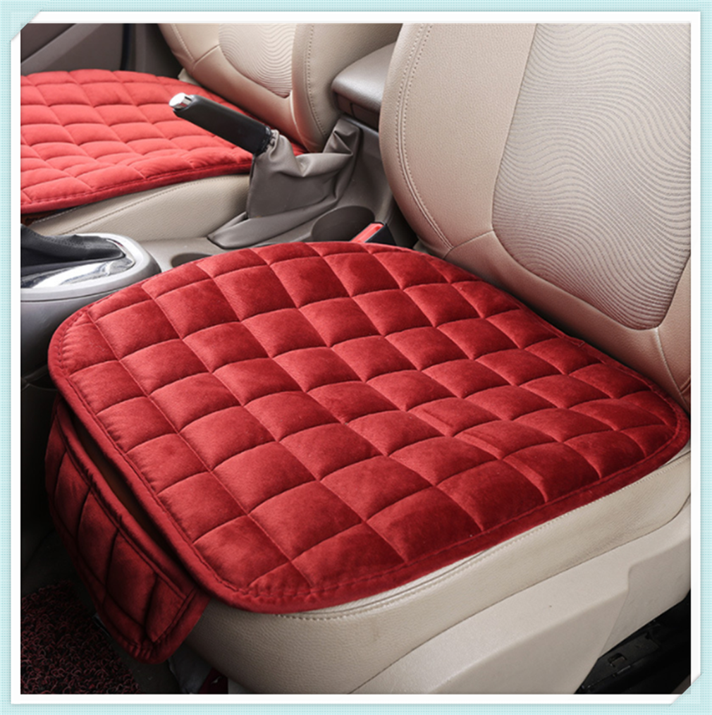 Car Accessories winter plush cushion rear multifunctional seat cover for BMW all series F-series E46 E90 F09 1 2 3 <font><b>4</b></font> 5 6 <font><b>7</b></font> X E image
