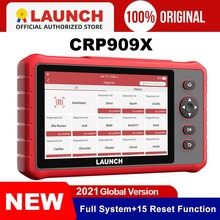 Launch CRP909X OBD2 Scanner Full System Diagnostic Tool Automotive Tool OIL IMMO TPMS Code Reader Diagnostic Scanner crp909 x