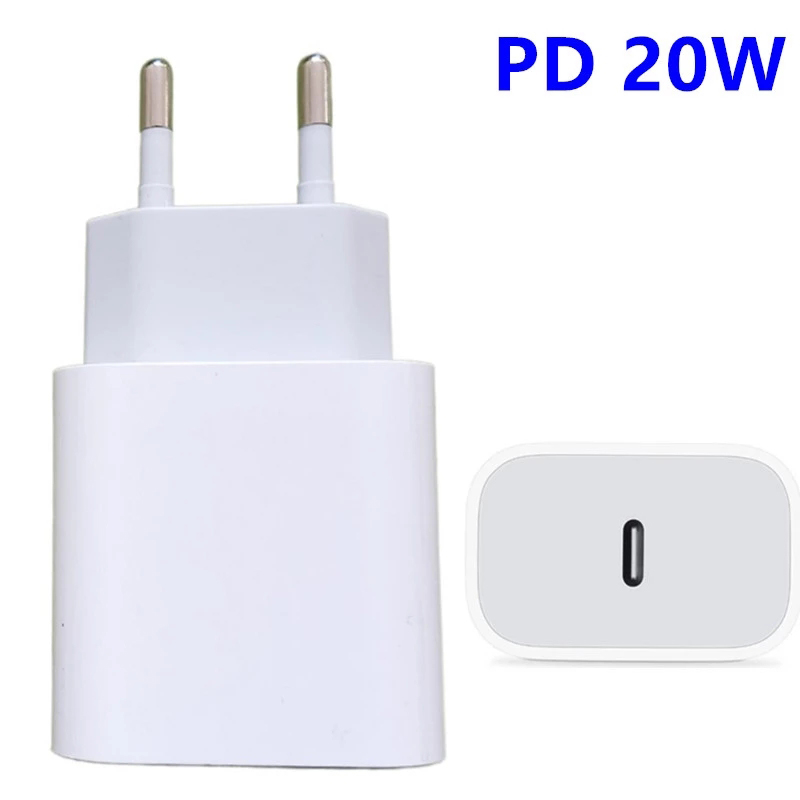 Fast Charger Type C For iPhone 11Pro Max 12 Pro 128Gb Samsung S21 Ultra S 20 21 Xiaomi 11 Redmi Apple Huawei 18W 20W W USB-C 3.0