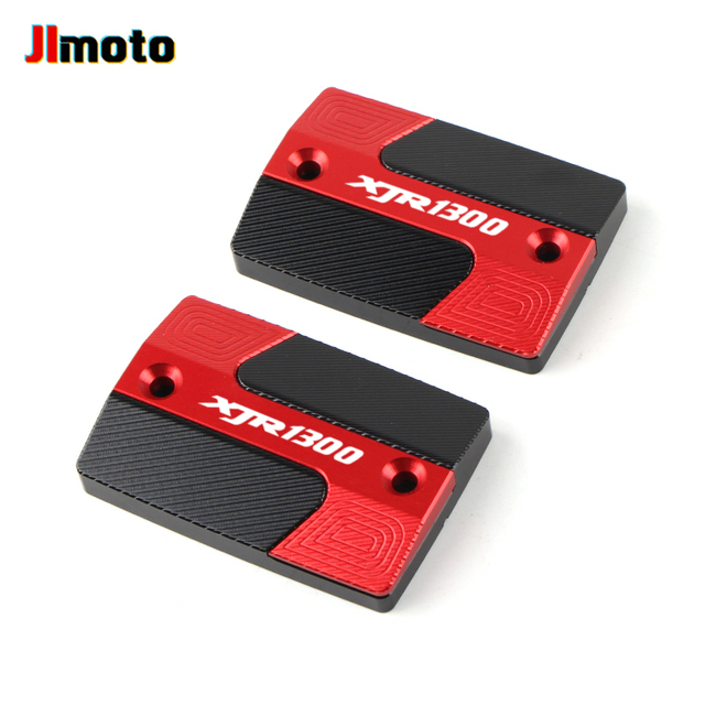 For YAMAHA XJR1300 XJR 1300 High Quality New Motorcycle Aluminum Accessorie CNC Front Brake Fluid Reservoir Oil Tank Covers Cap