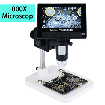 1000X4 3 #8222 mikroskop usb 8 led cyfrowy mikroskop metalowy stojak mikroskop elektroniczny dla PCB płyty głównej naprawy tanie i dobre opinie JUNEFOR 500X-1500X PORTABLE Wysokiej Rozdzielczości Handheld Mikroskop wideo USB Digital Electronic Microscope Ze stopu Aluminium ze stopu Aluminium