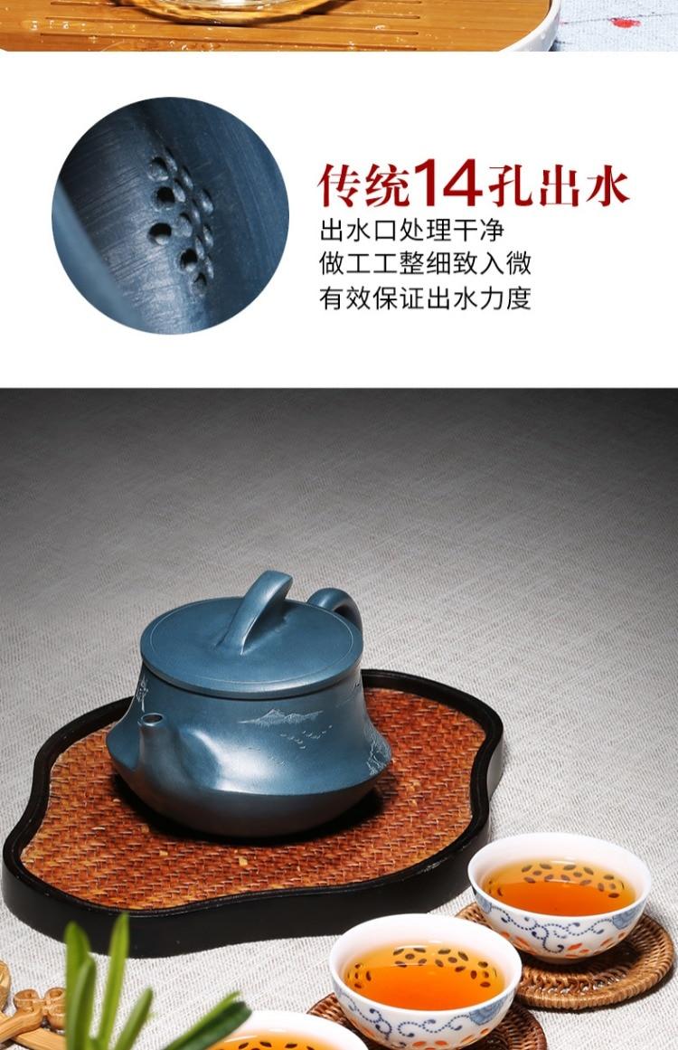 vela kungfu bule e chá conjunto