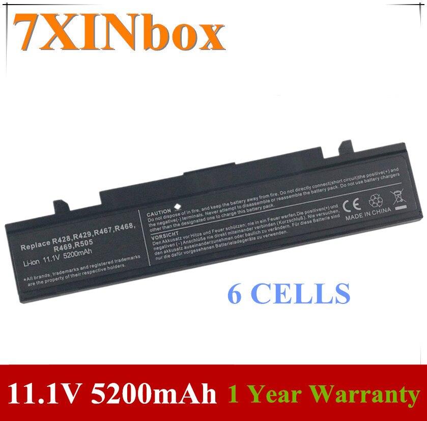 7XINbox AA-PB9NC6W batería del ordenador portátil para SAMSUNG RV410 RV411 RV415 RV420 RV508 RV510 RV511 RV515 Q430 NP-Q530 NP-SF410 NP-RF511