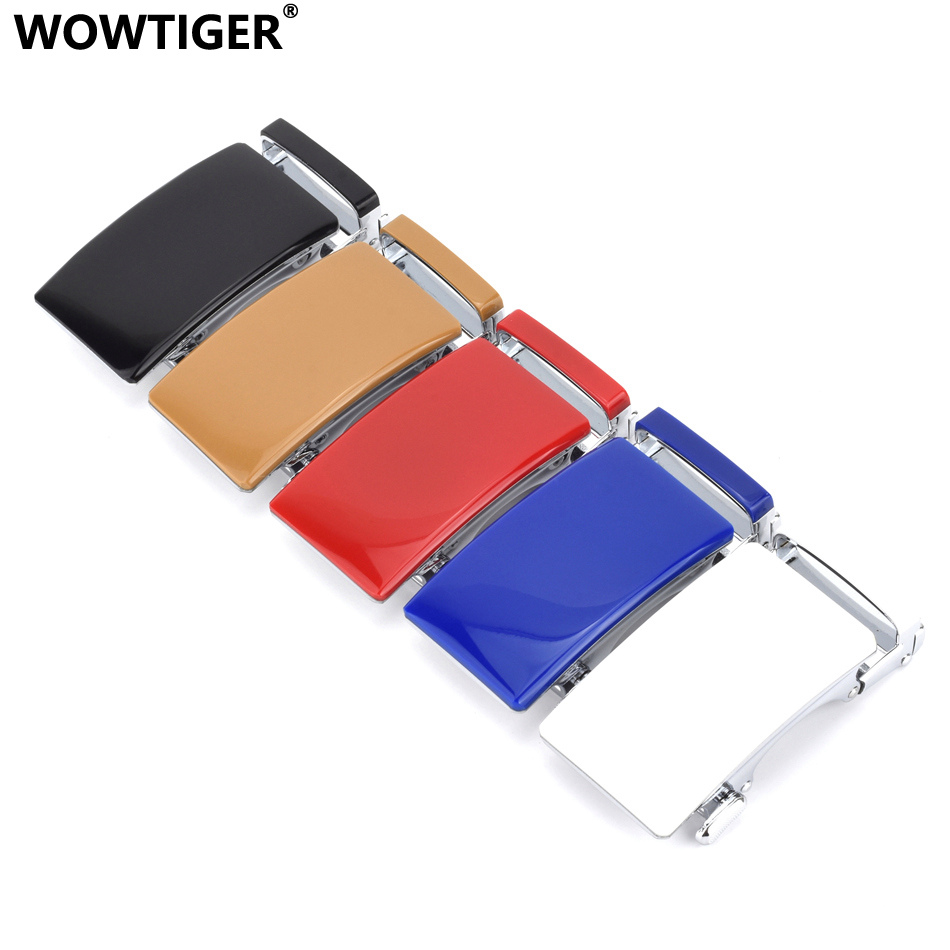WOWTIGER High Quality Zinc Alloy Automatic Buckle Belt Buckles Suitable Wide Belts Hebilla Cinturon Boucle Male De Ceinture