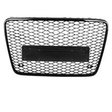 1 Pcs For RSQ7 Style Front Sport Hex Mesh Honeycomb Hood Grill Black for Audi Q7 4L 2007 2008 2009 2010 2011 2012 2013 2014 2015