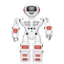 Bluetooth Rc игрушка-робот дистанционного управления игрушки интеллектуальная Роботизированная Танцы Пение жесты зондирования запись робот игрушки Дети