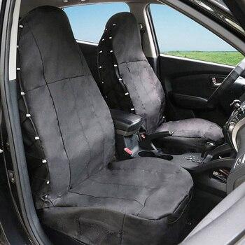 2Pcs Front Car Seat Cover for Honda CR-V 2007 2008 2007-2011 2013 2016 Element Fit HR-V Insight JAZZ Legend Pilot Spirior Stream