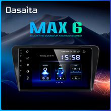 Dasaita 10 2 #8222 ekran multimedialny IPS 1 Din Android 9 0 dla Skoda Octavia 2014 2015 2016 2017 GPS samochód z nawigacją Stereo 4G RAM tanie tanio Jeden Din 10 2 4*50W Jpeg Dasaita player for Skoda Octavia 2014 1024*600 3 5kg Bluetooth Wbudowany gps Odtwarzacze mp3