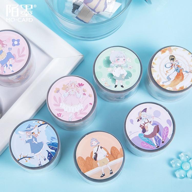 1set/1lot Washi Masking Tapes Suyo Tea World Decorative Adhesive Scrapbooking DIY Paper Japanese Stickers 5m